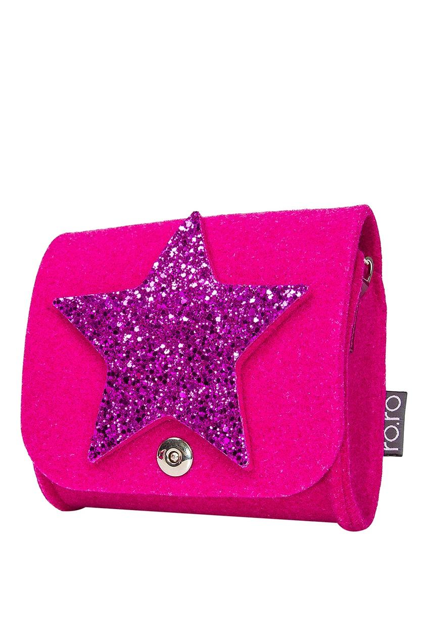 Розовая сумка со звездой