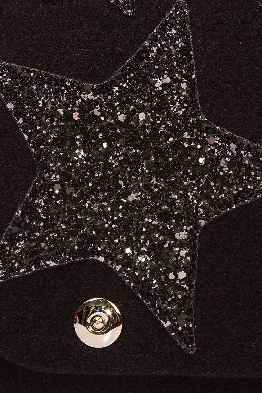 Черная сумка со звездами