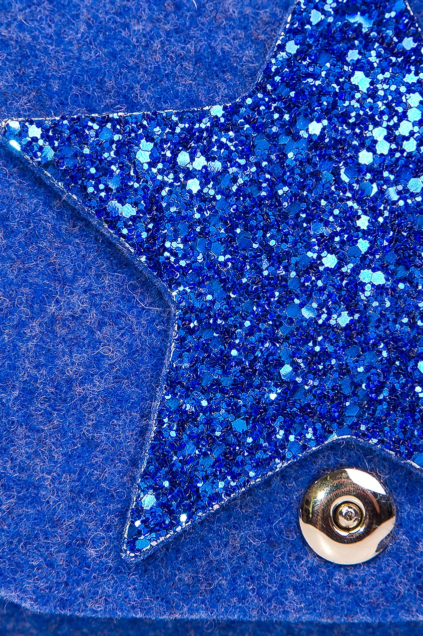 Синяя сумка со звездой