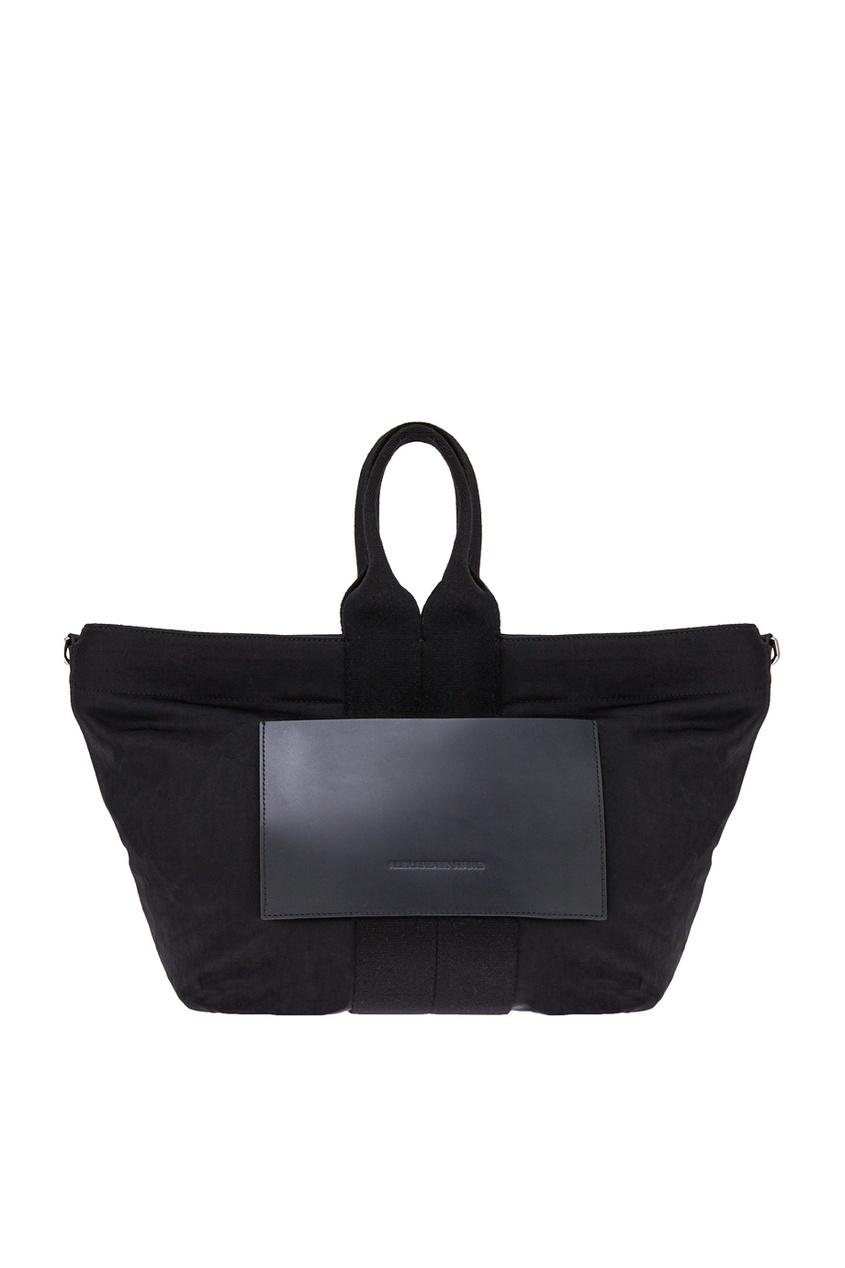 Текстильная сумка с карманом