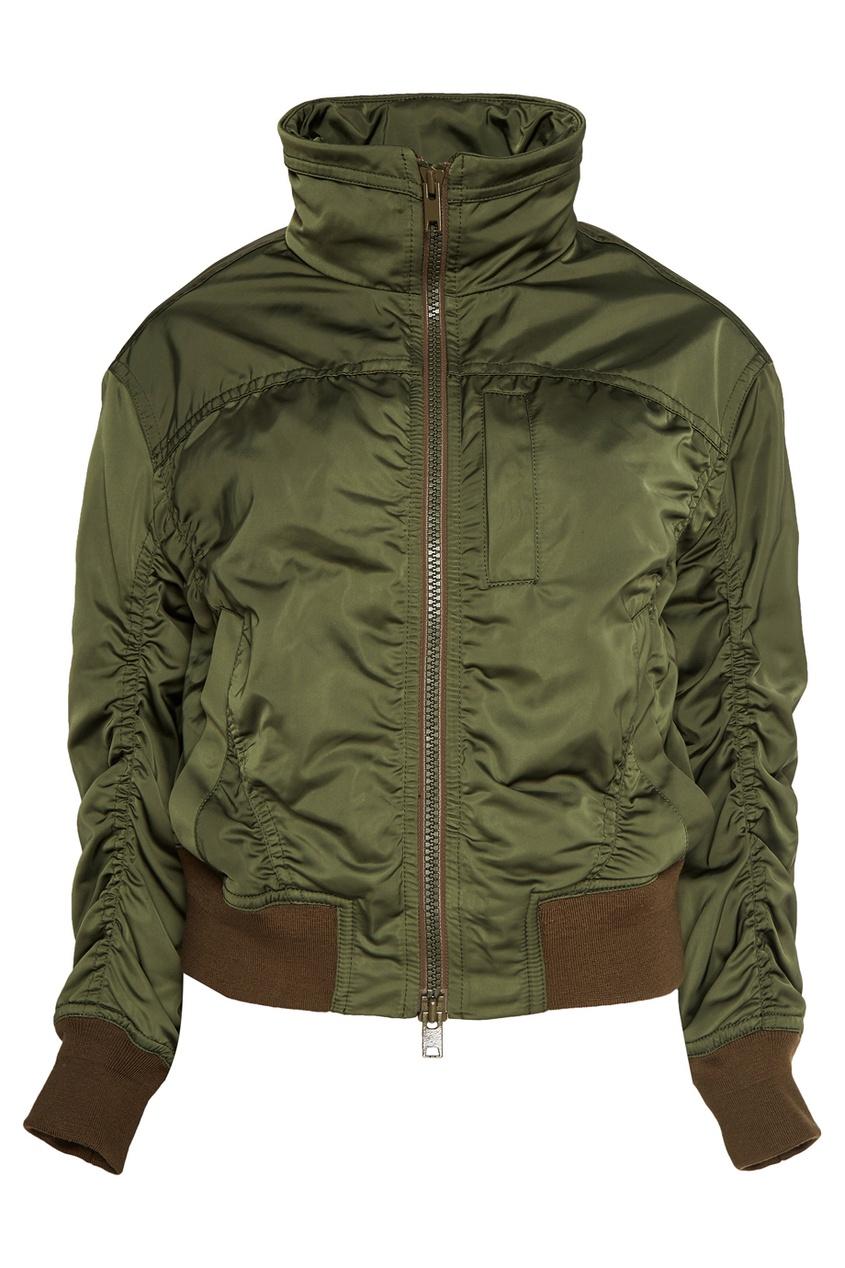 Куртка с драпировками