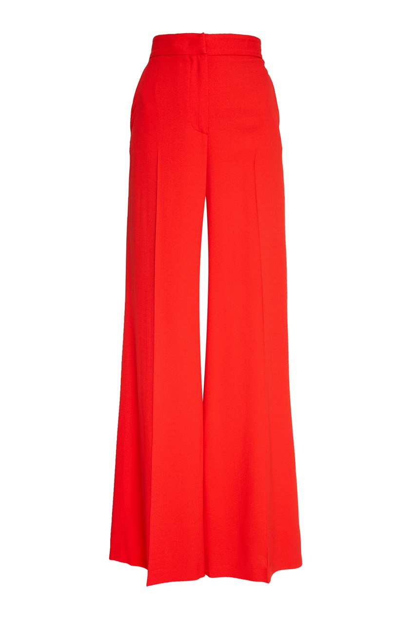 MSGM Красные брюки-палаццо