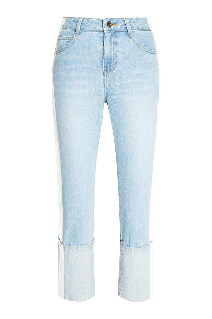 цены на SJYP Голубые джинсы с белыми полосками в интернет-магазинах