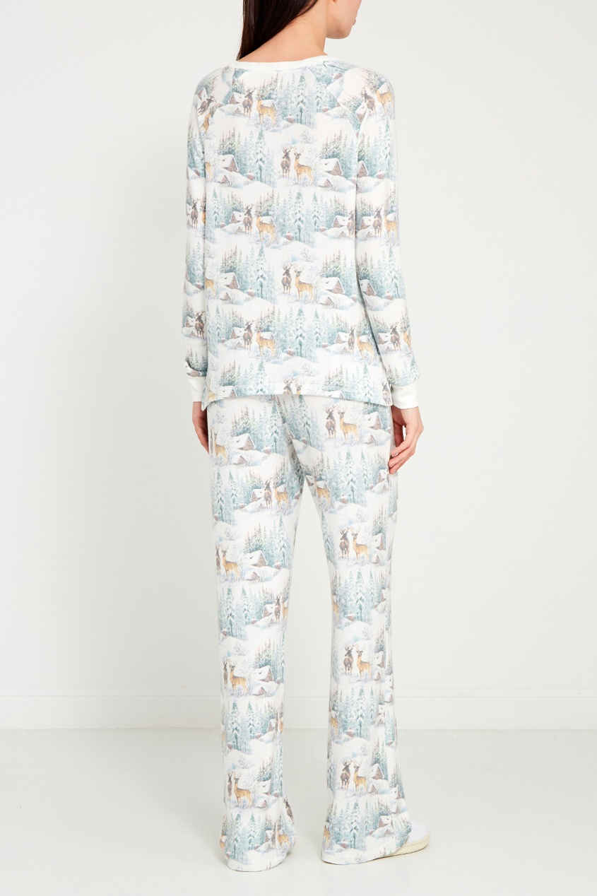 P.J. Salvage Пижамные брюки с оленями пижамные комплекты