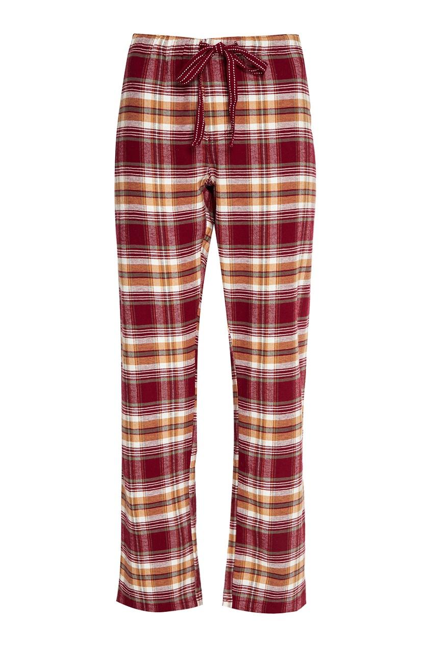 P.J. Salvage Хлопковые брюки в клетку пижамные комплекты