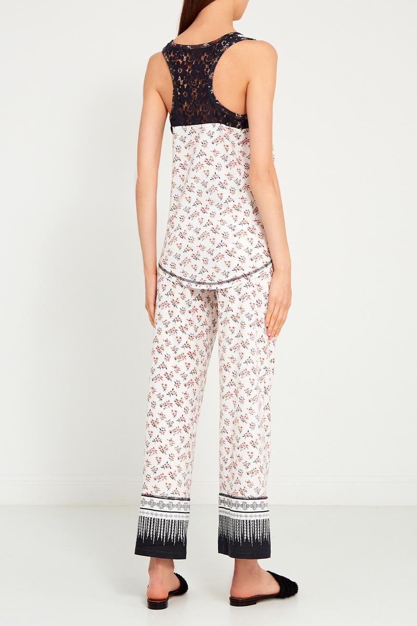 P.J. Salvage Пижамные брюки с цветами пижамные комплекты