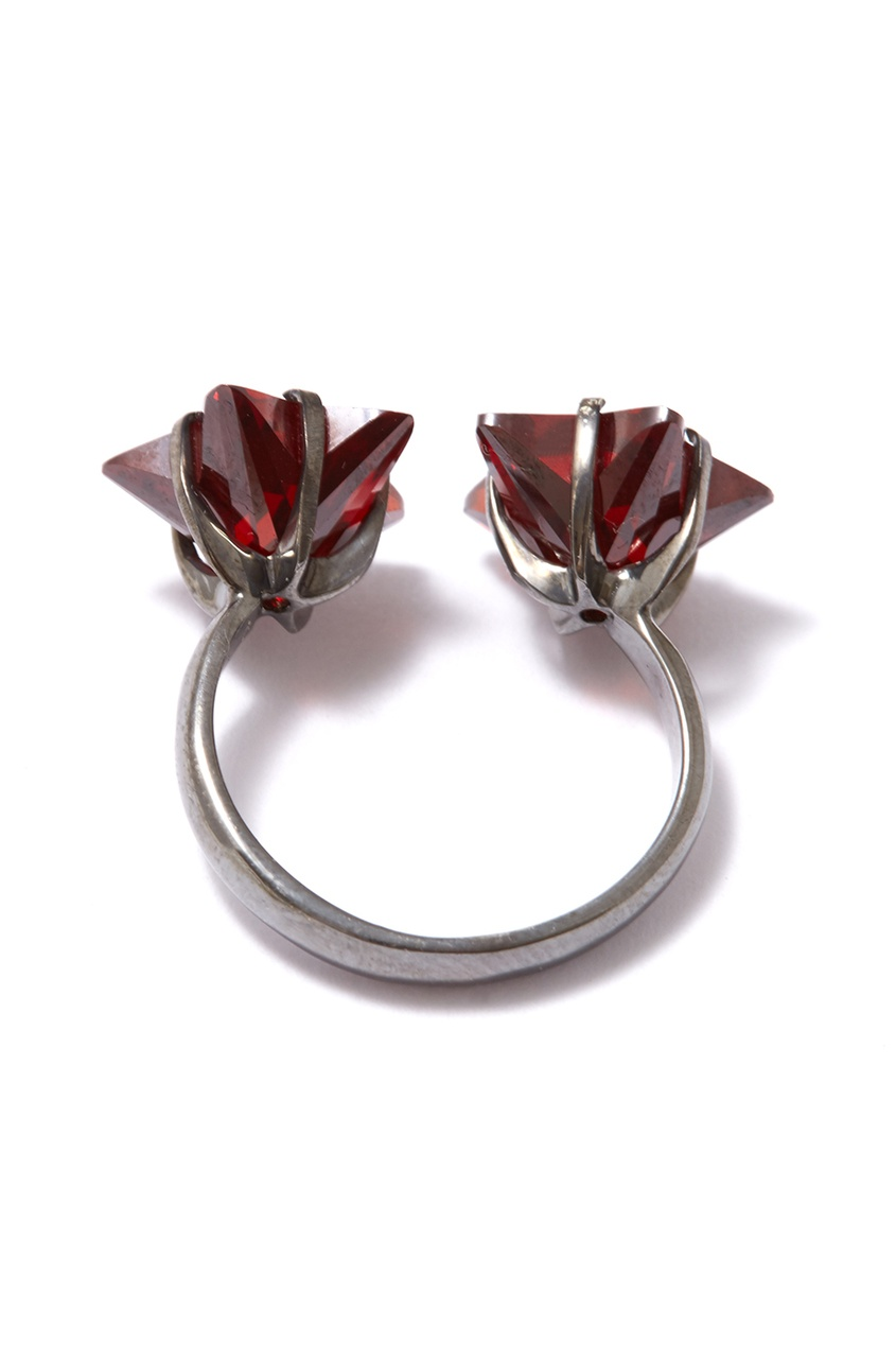 Dzhanelli Jewellery Серебряное кольцо со звездами
