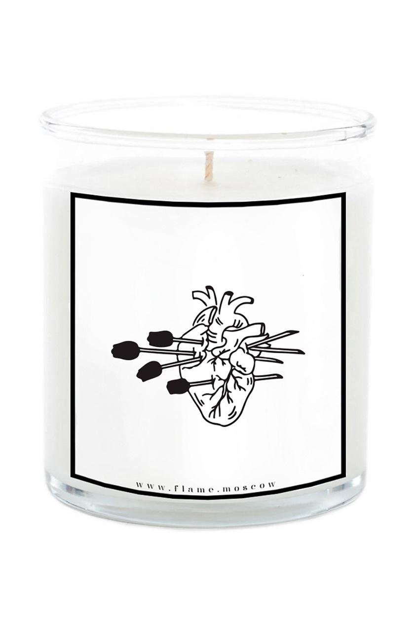 Ароматическая свеча Cupids flowers Lina, 250 g от Flame Moscow