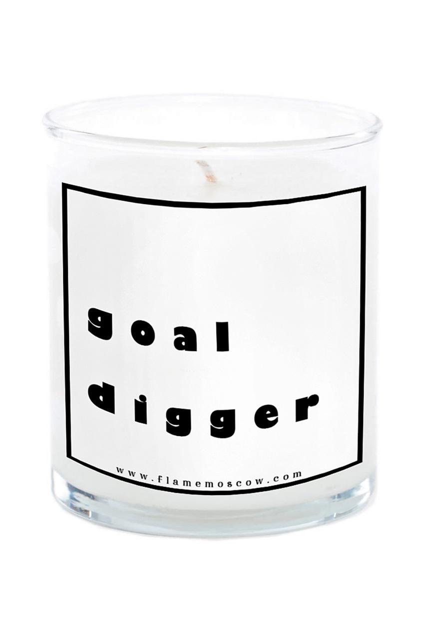 Flame Moscow Ароматическая свеча Goal digger Jackie, 250 g