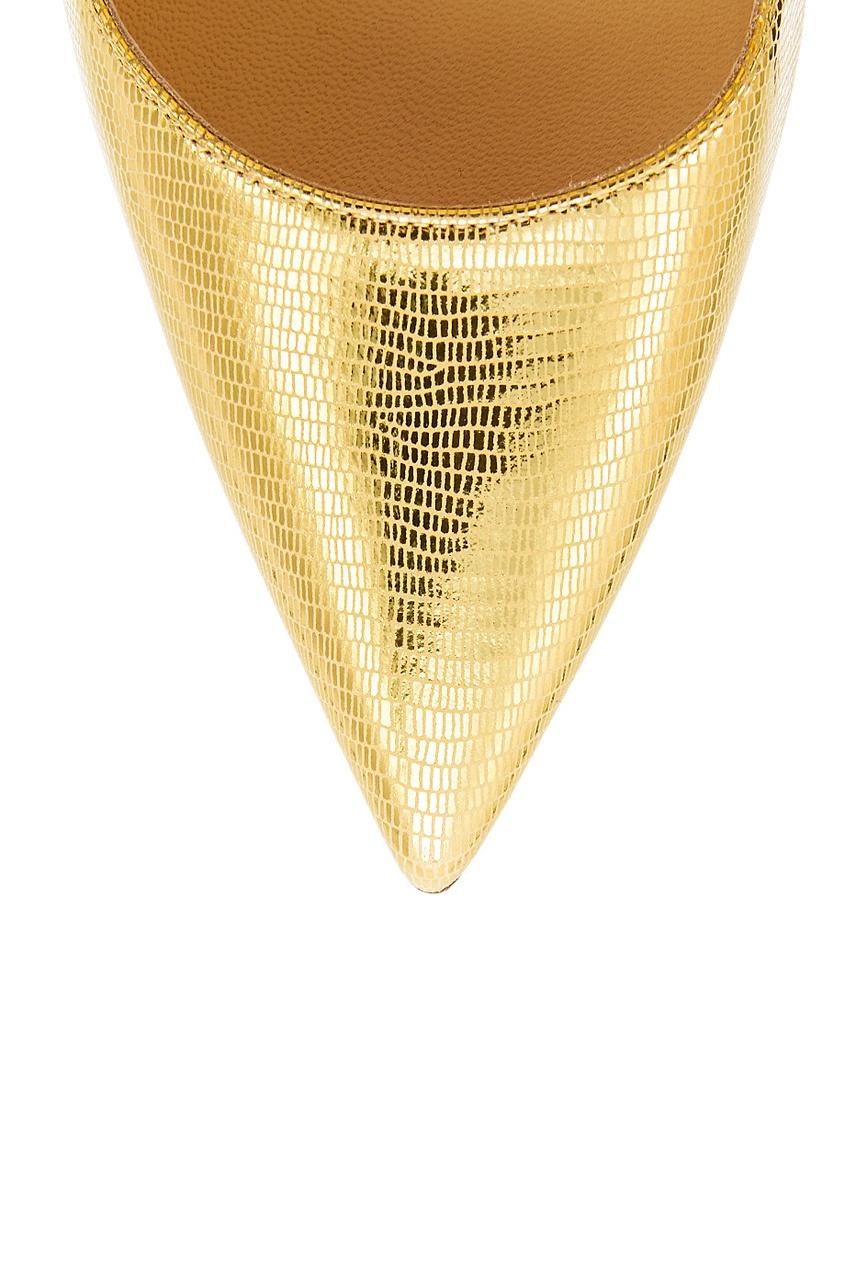 Золотистые туфли So Kate 120