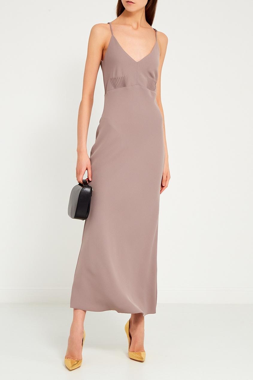 LAROOM Платье на тонких бретелях laroom черное платье макси
