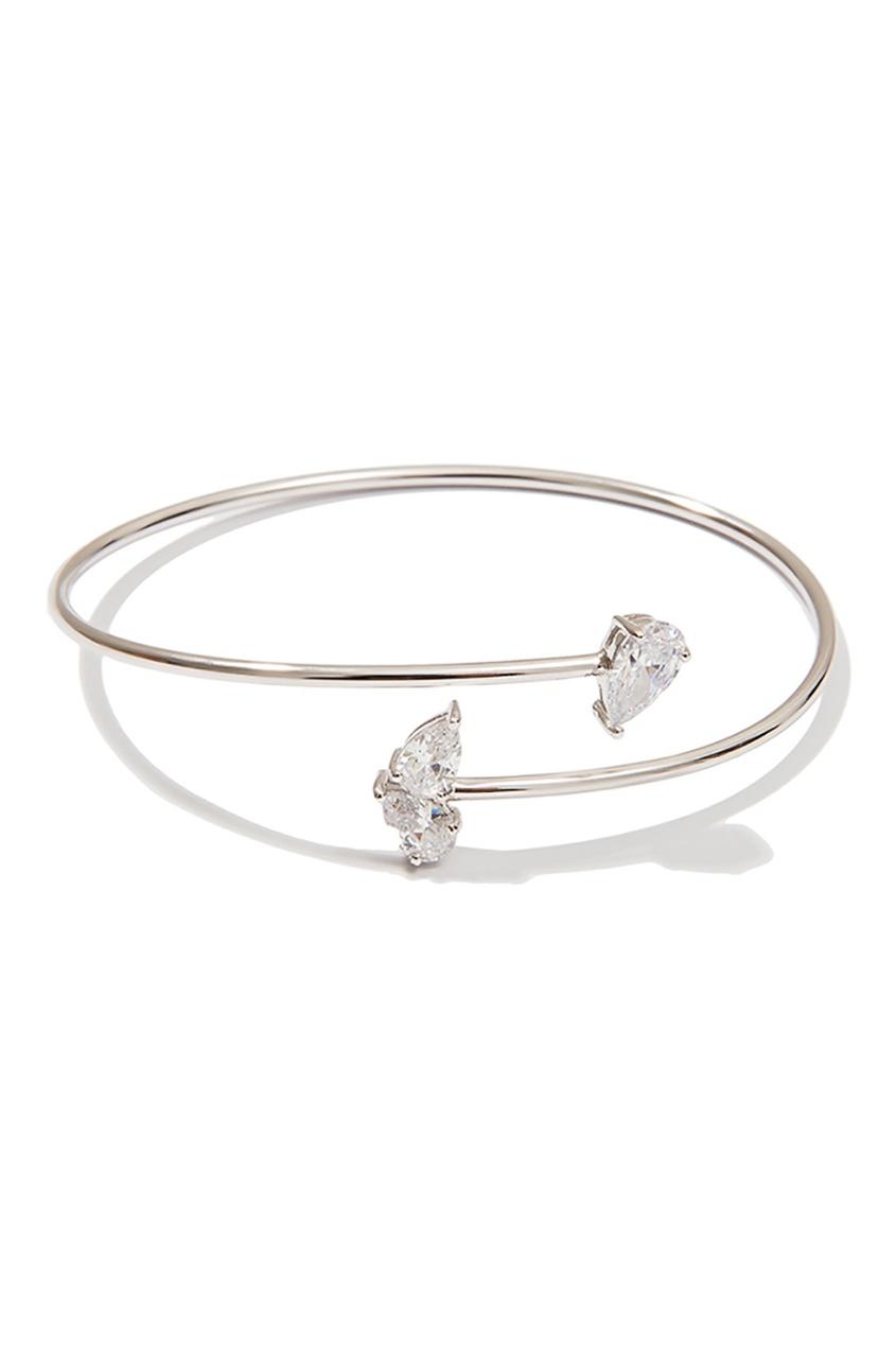 Exclaim Серебряный браслет с кристаллами exclaim серебряный браслет с кристаллами
