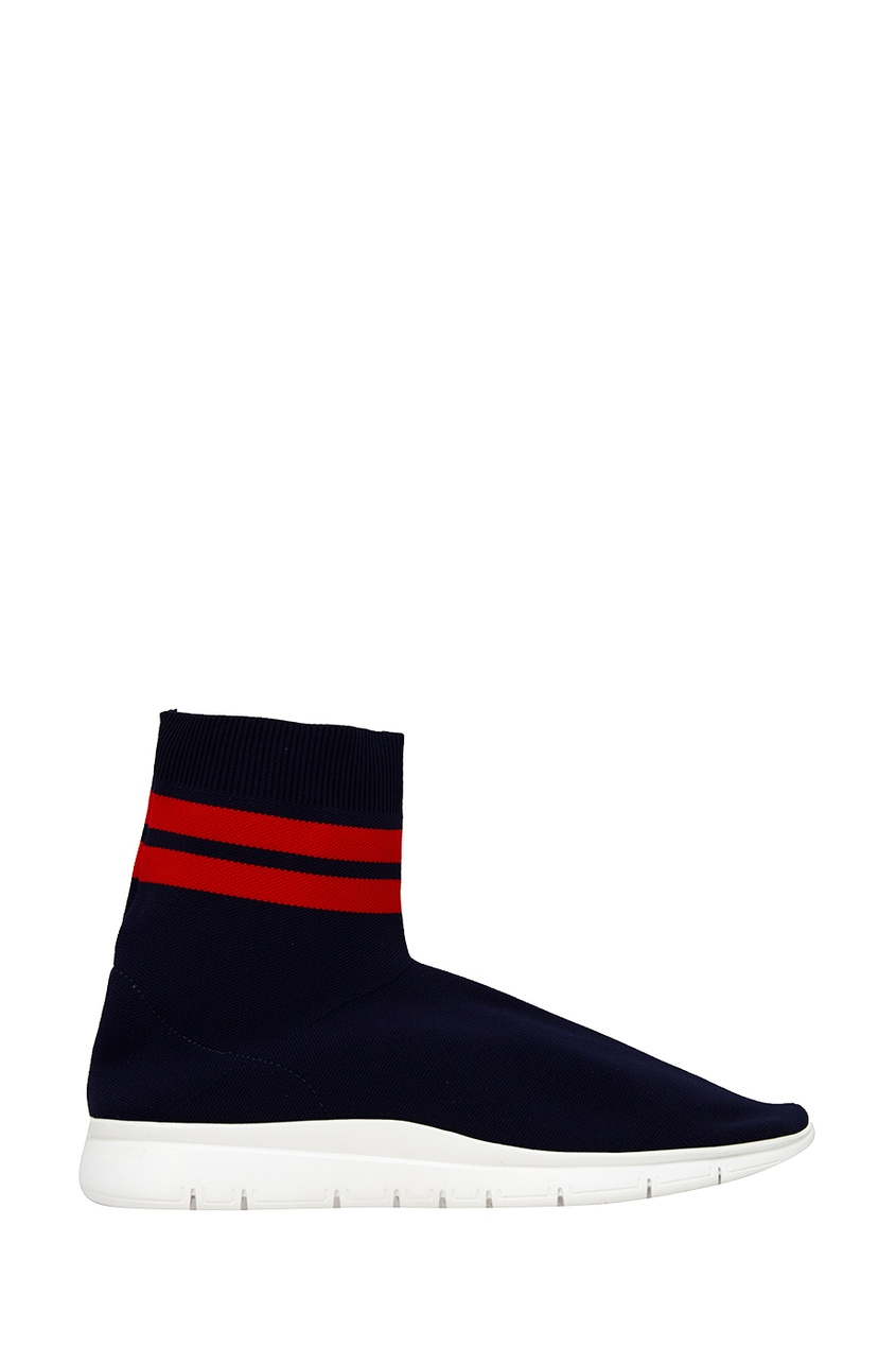 Синие текстильные кроссовки от Joshua Sanders
