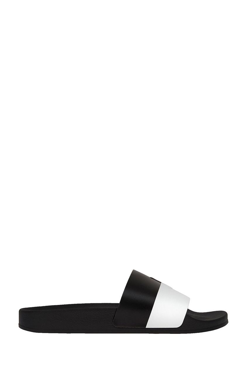 Joshua Sanders Черно-белые сандалии joshua sanders слипоны с вышивкой крестиком