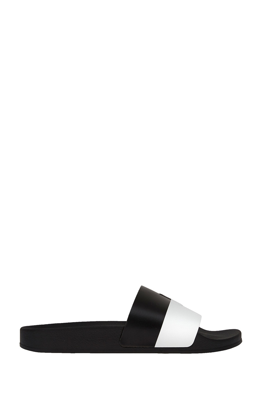 Joshua Sanders Черно-белые сандалии