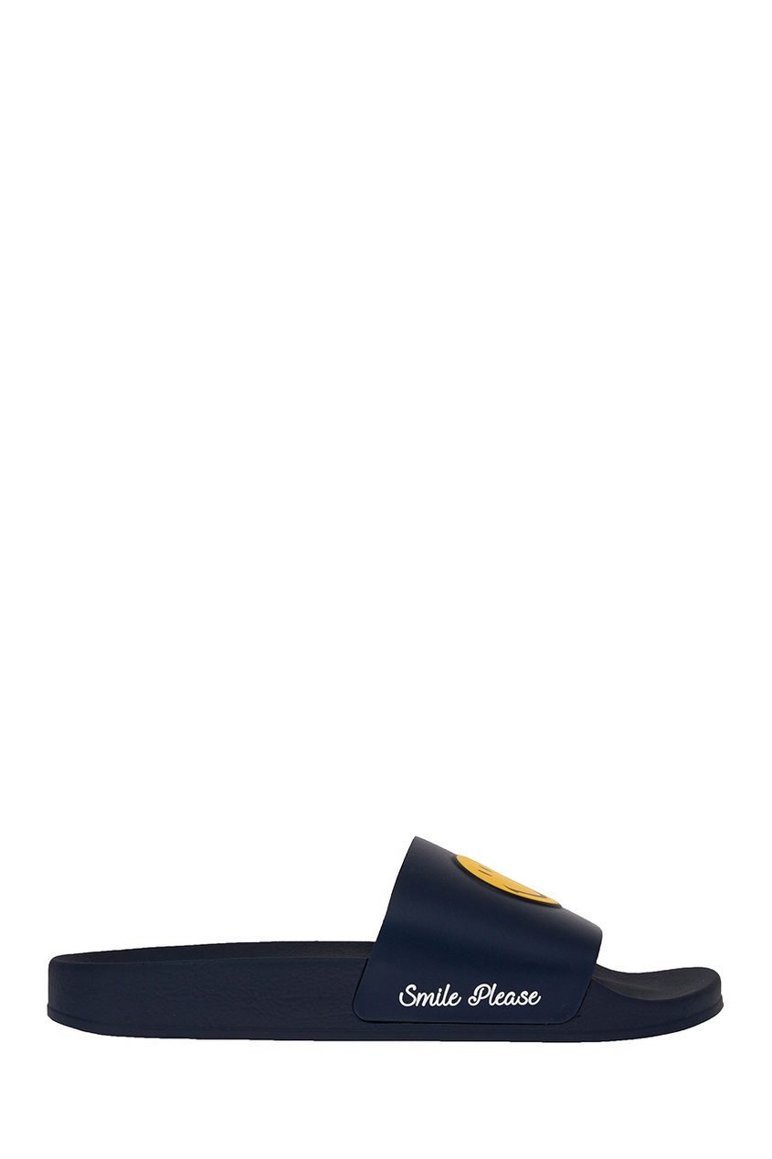 Joshua Sanders Синие сандалии со смайлом joshua sanders сандалии из денима