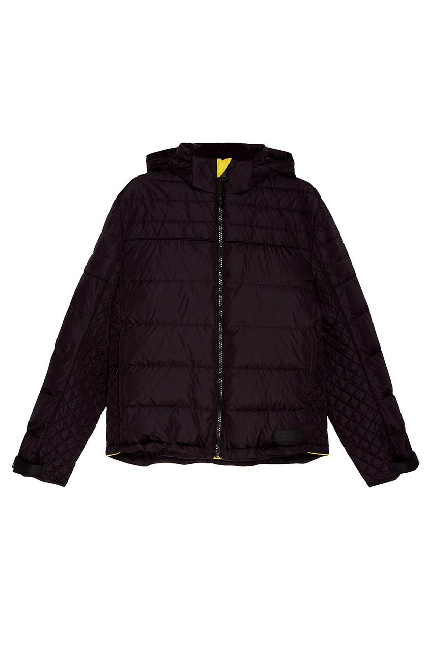 Prada Черная стеганая куртка