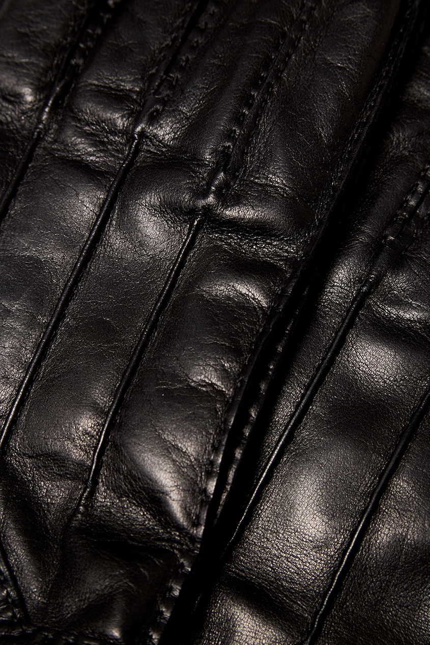 Prada Кожаные перчатки мужские кожаные перчатки в самаре