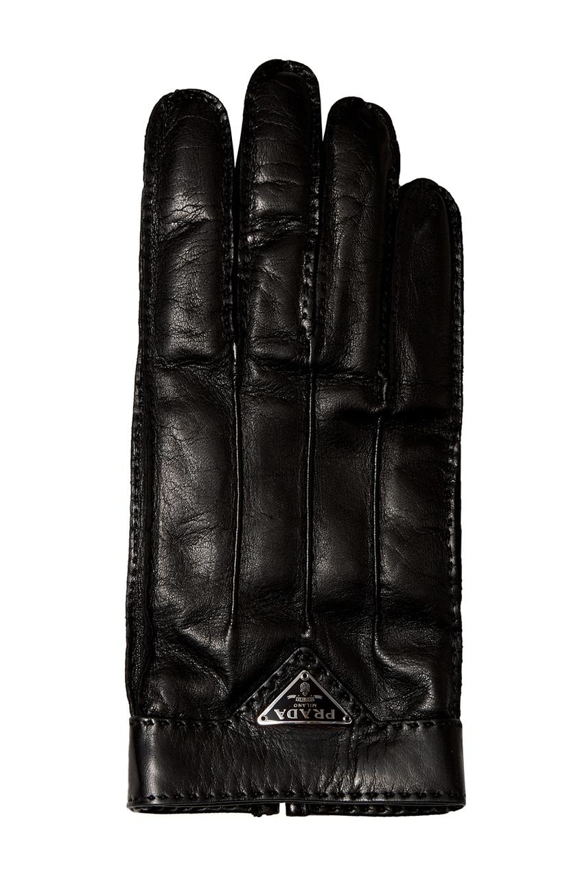 Prada Кожаные перчатки