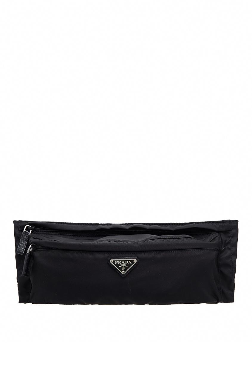 Prada Поясная сумка с логотипом сумка поясная для гвоздей и мелких инструментов truper 11516