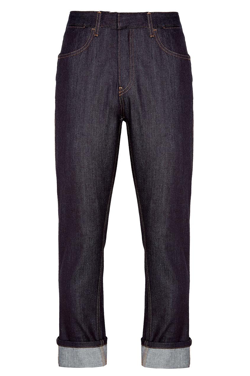 Prada Синие прямые джинсы