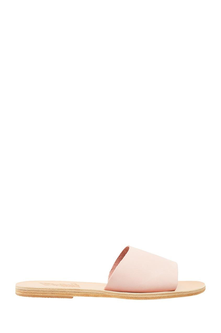 купить Ancient Greek Sandals Розовые сандалии из кожи дешево