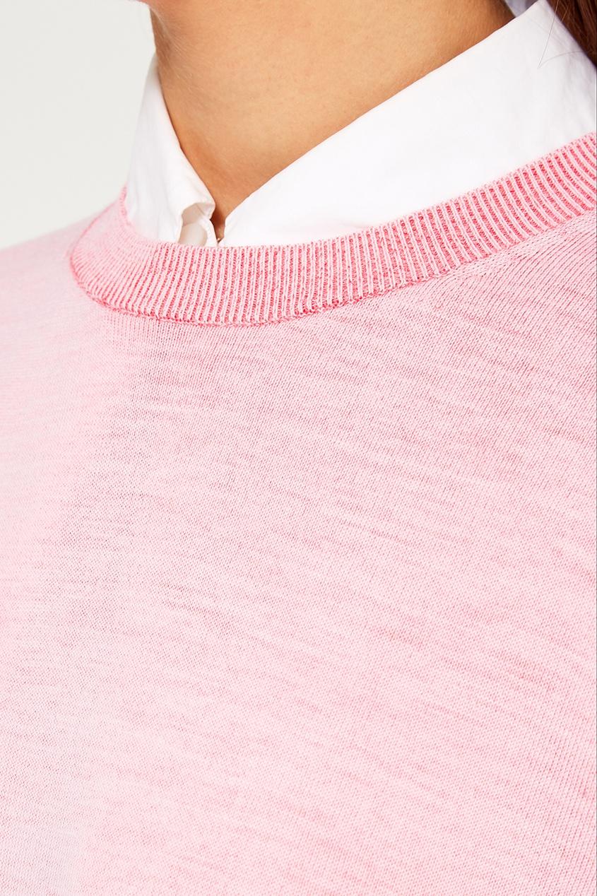 Розовый джемпер из шерстяного микса Finola