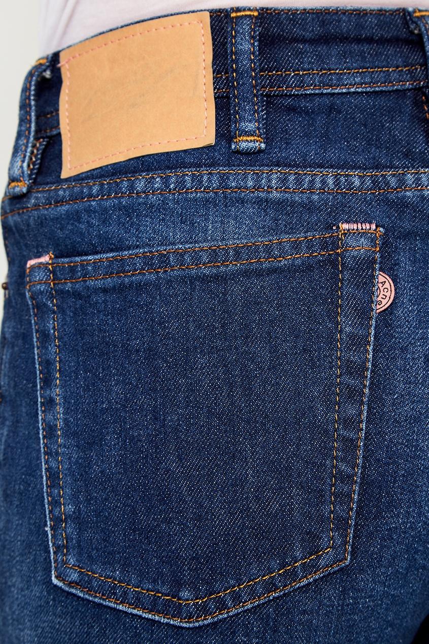 Acne Studios Прямые синие джинсы джинсы acne studios джинсы бойфренды