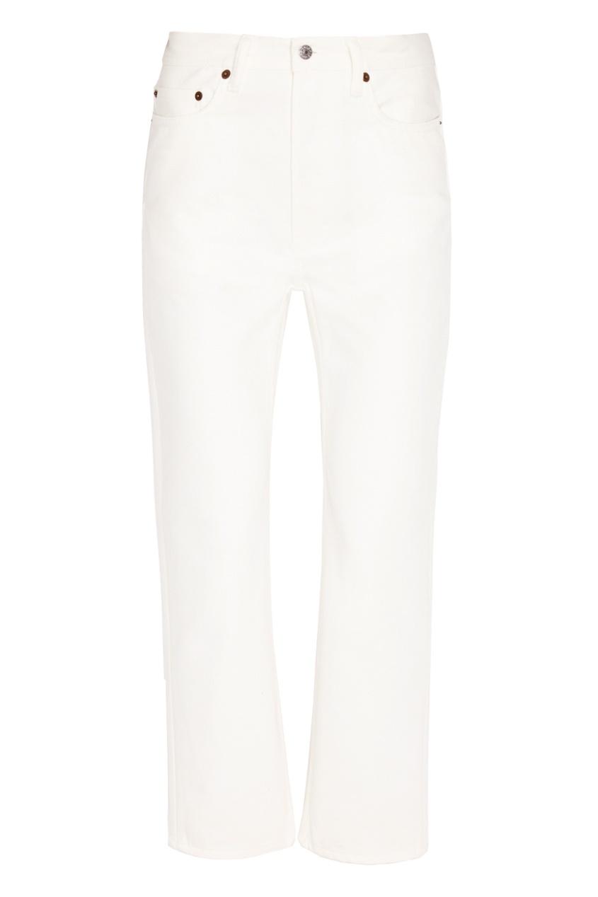 Acne Studios Белые джинсы джинсы acne studios джинсы бойфренды