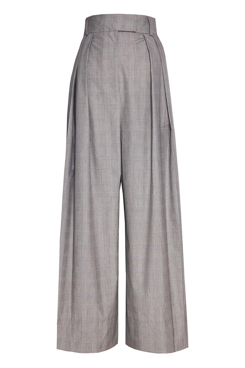 A.W.A.K.E. Широкие брюки из хлопка брюки широкие из хлопка stretch phil