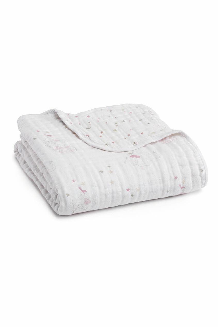 ADEN+ANAIS Хлопковое одеяло с принтом