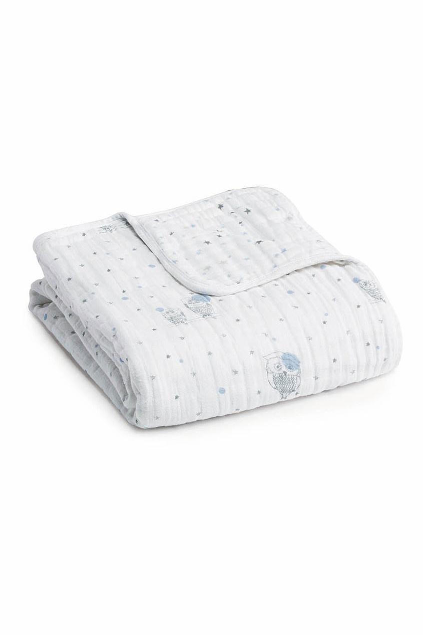 Детское одеяло из хлопка с принтом