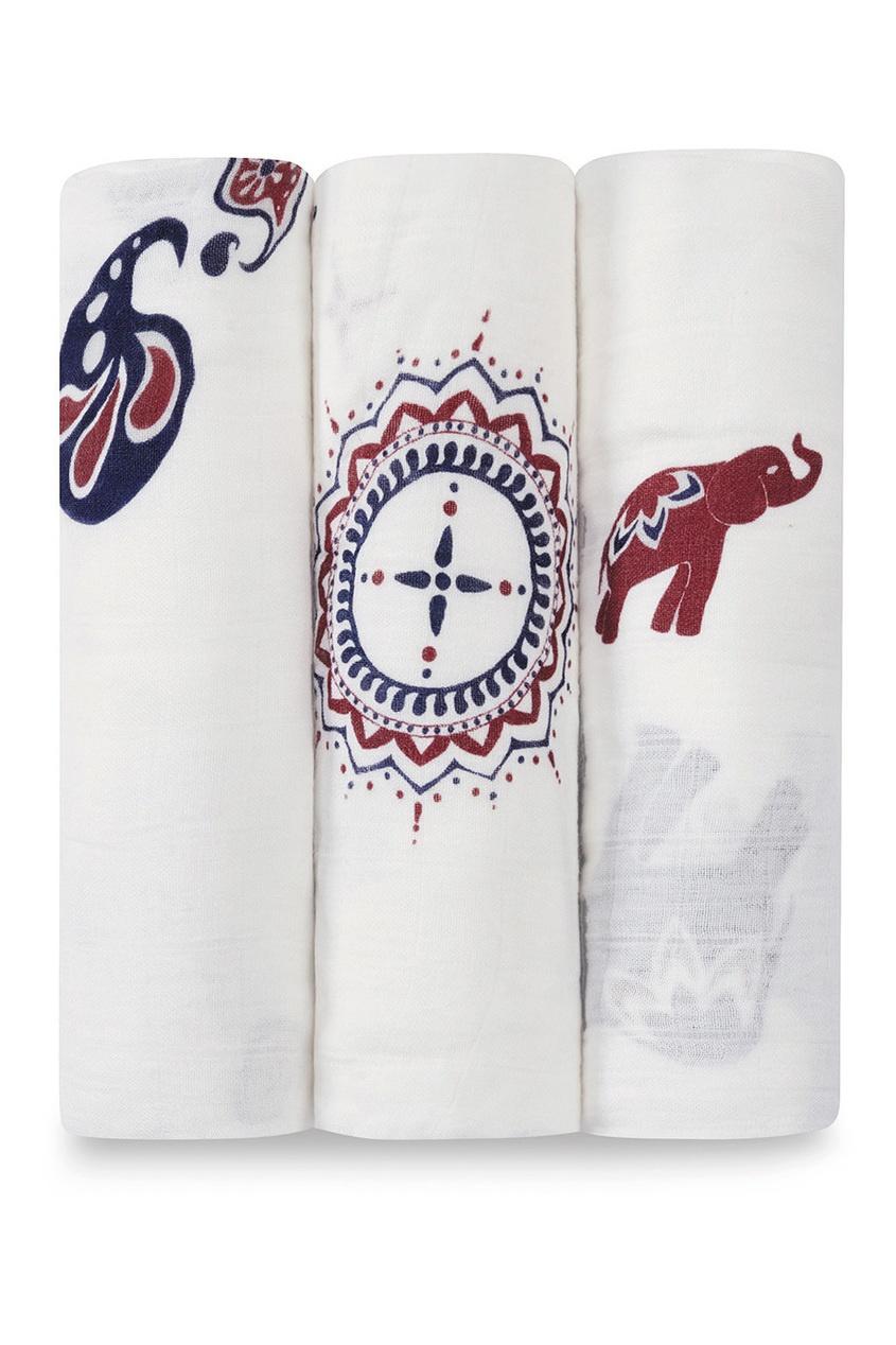 Набор пеленок с принтом в индийском стиле