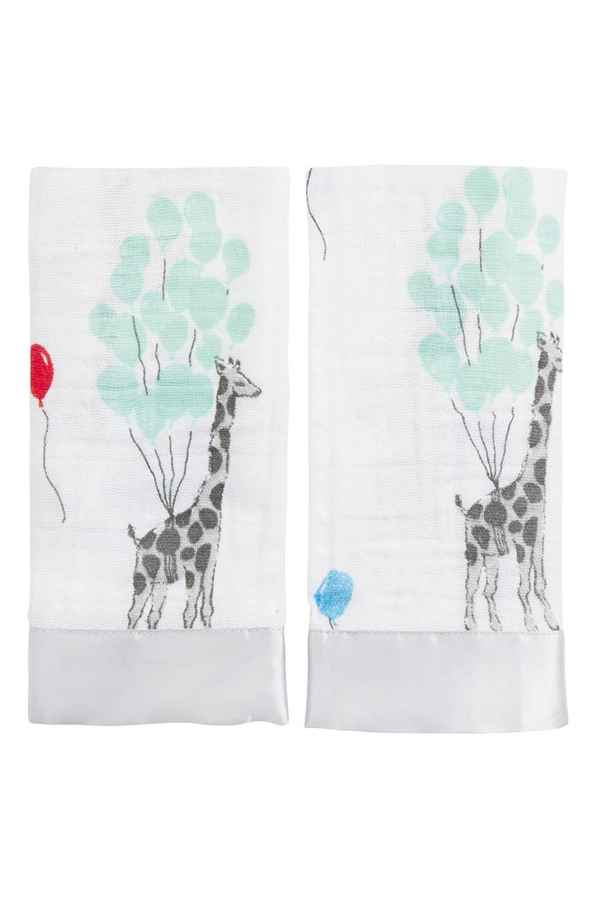 ADEN+ANAIS Набор салфеток для лица с жирафами anais apparel connie