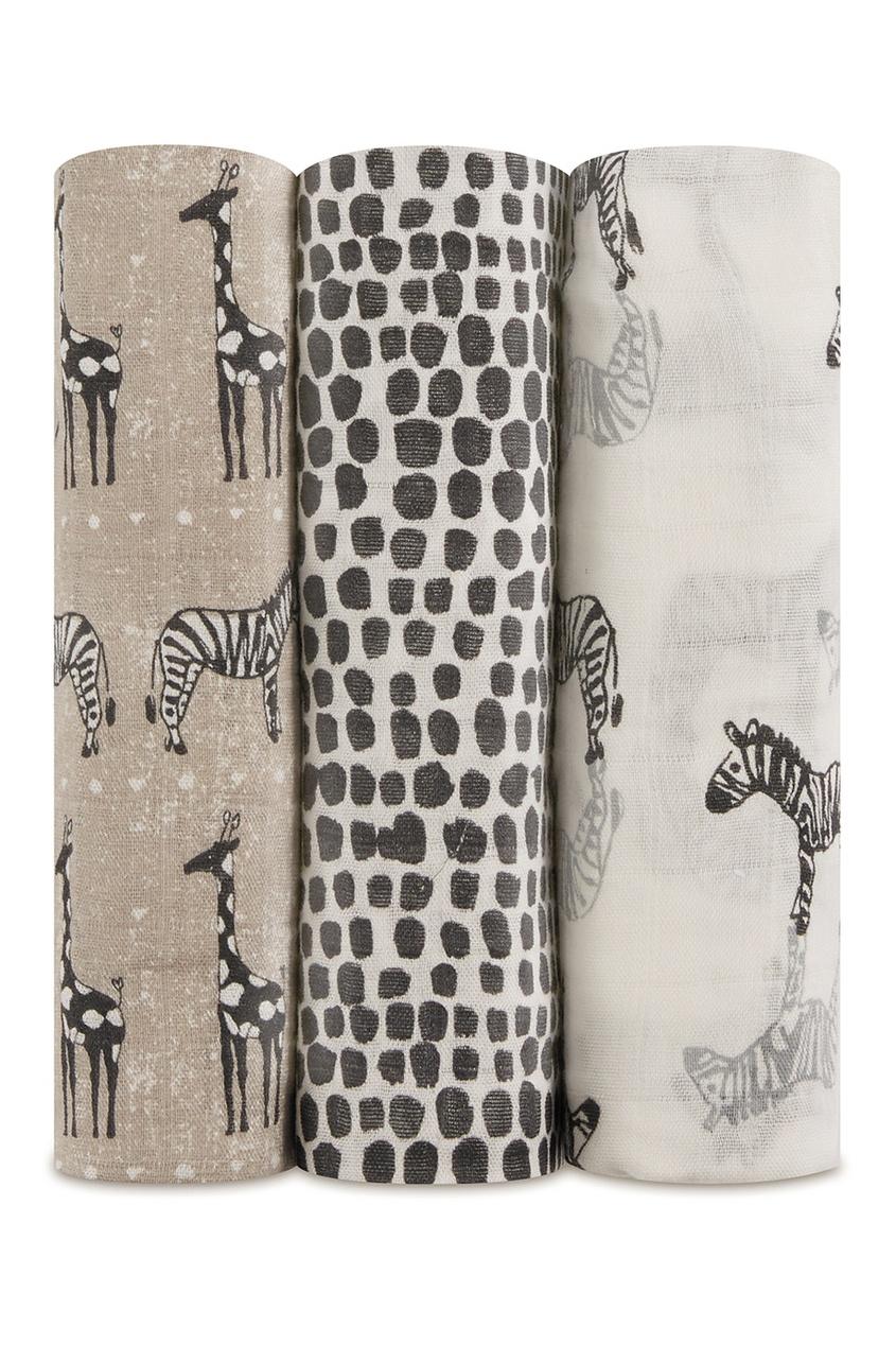 Бамбуковые пеленки с принтом в африканском стиле