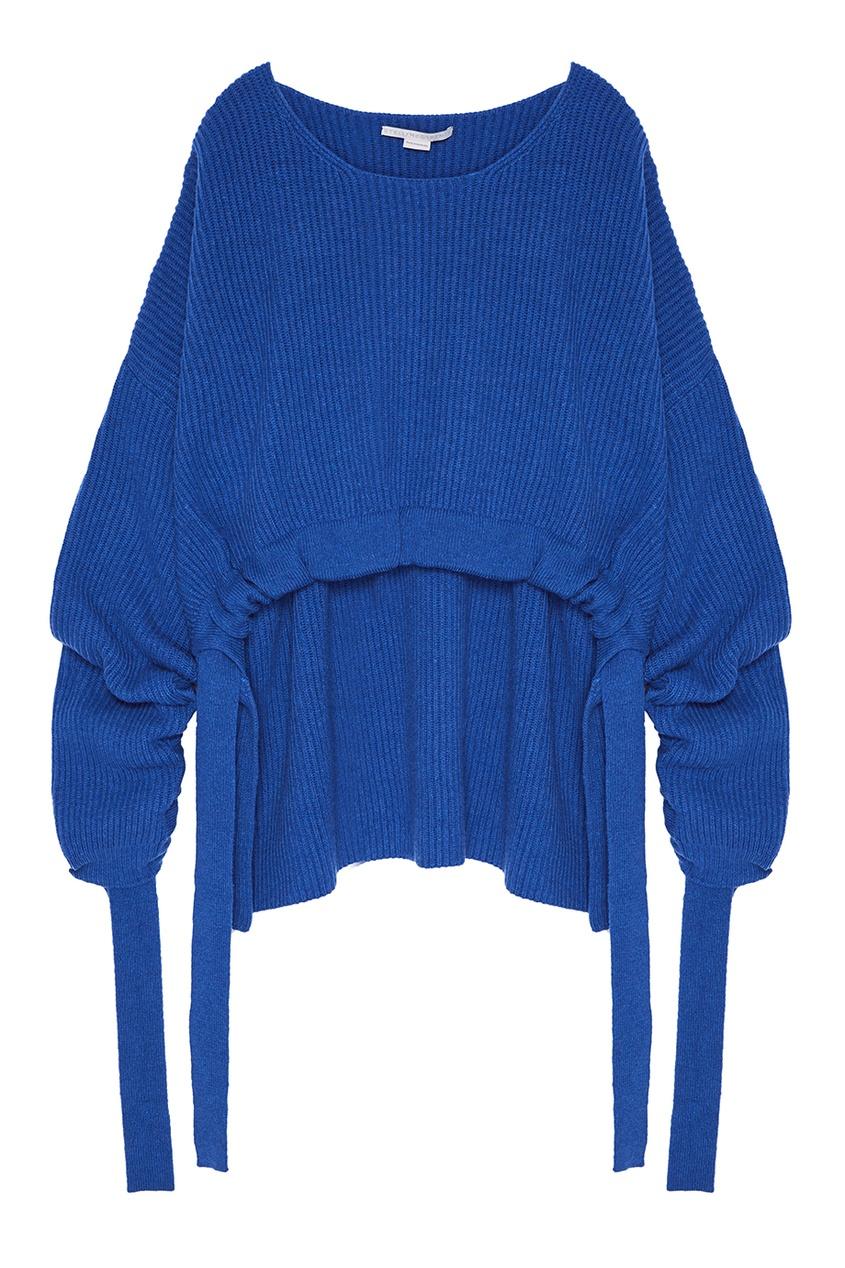 Синий джемпер из кашемира