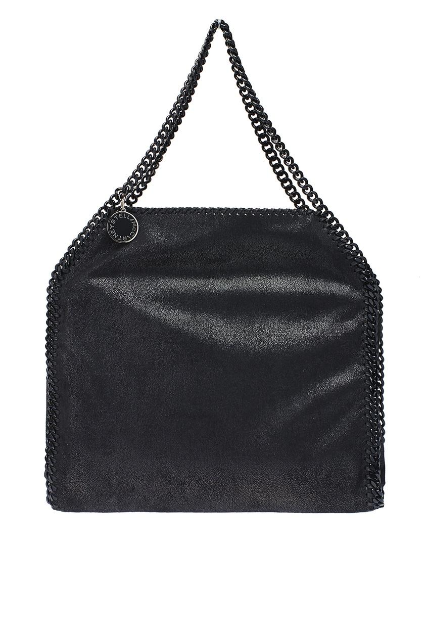 Черная сумка с цепочками Falabella