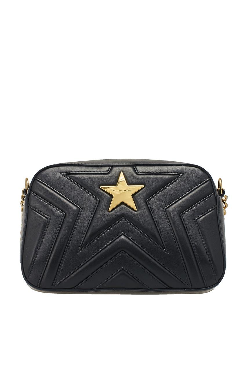 Stella McCartney Черная сумка Stella Star Small stella mccartney жакет