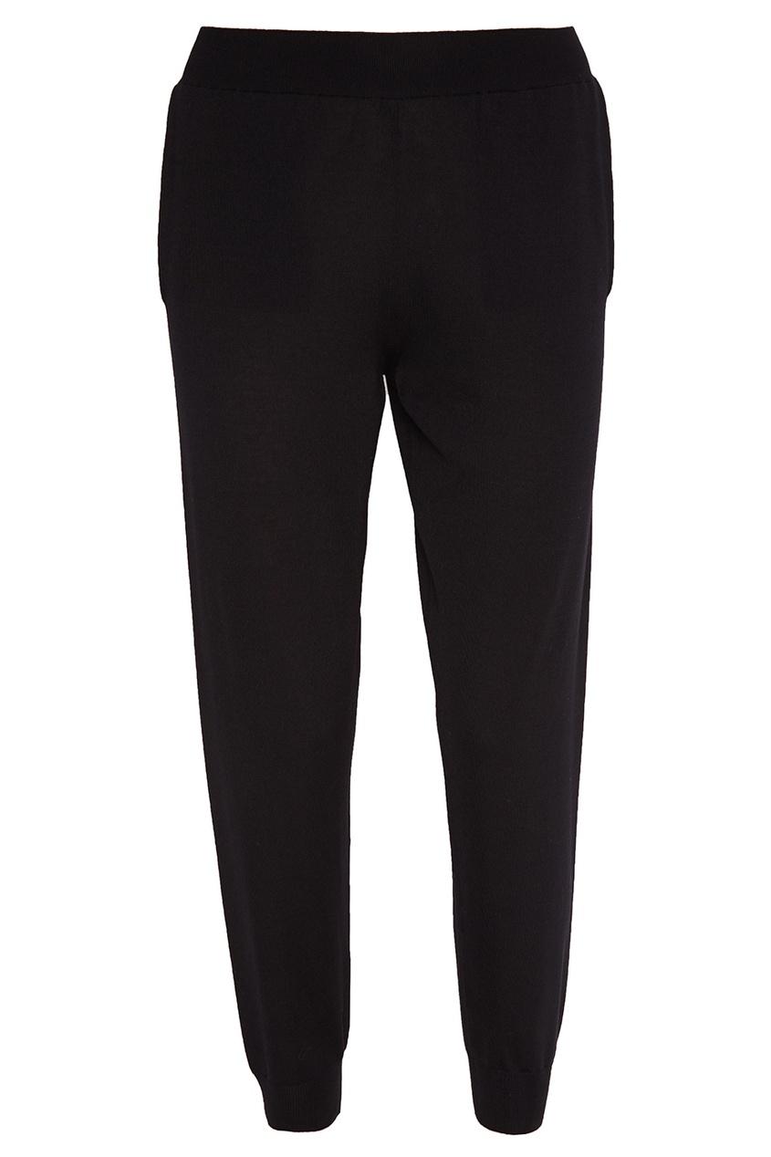 Stella McCartney Черные шерстяные брюки stella mccartney шерстяная юбка
