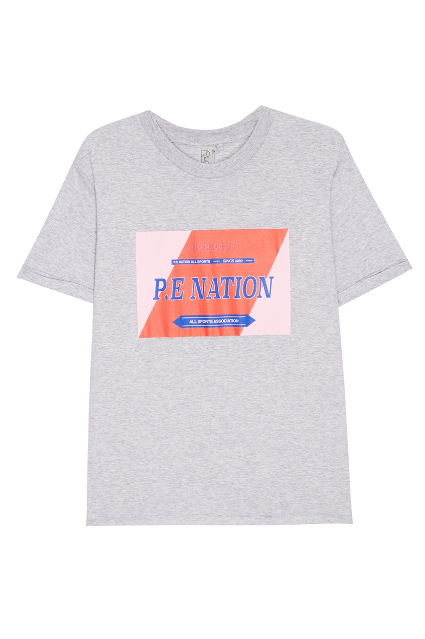 P.E Nation Хлопковая футболка с логотипом outfitters nation футболка