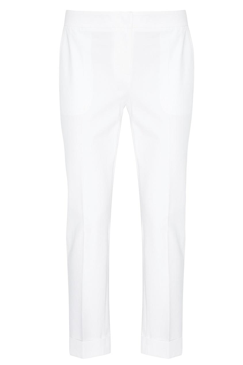 Lorena Antoniazzi Белые хлопковые брюки lorena antoniazzi pубашка