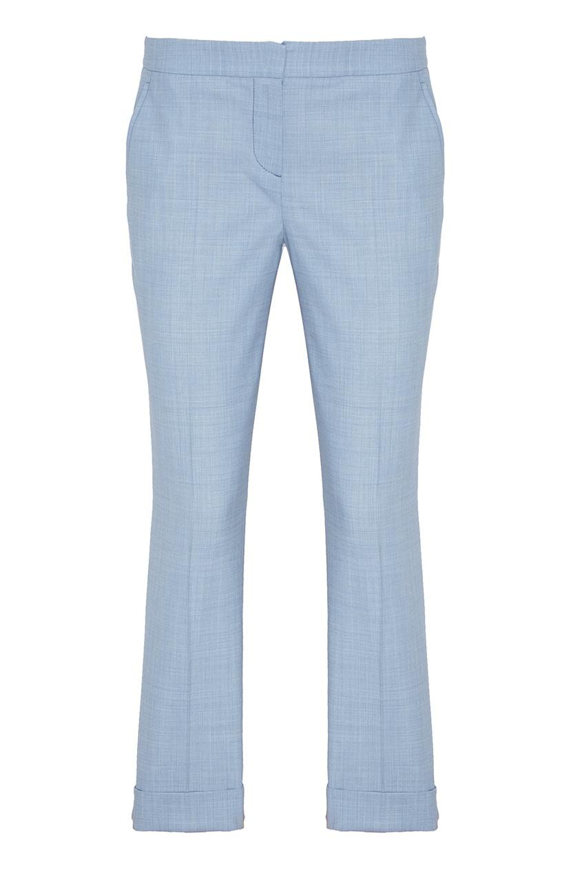 Lorena Antoniazzi Голубые шерстяные брюки lorena antoniazzi pубашка