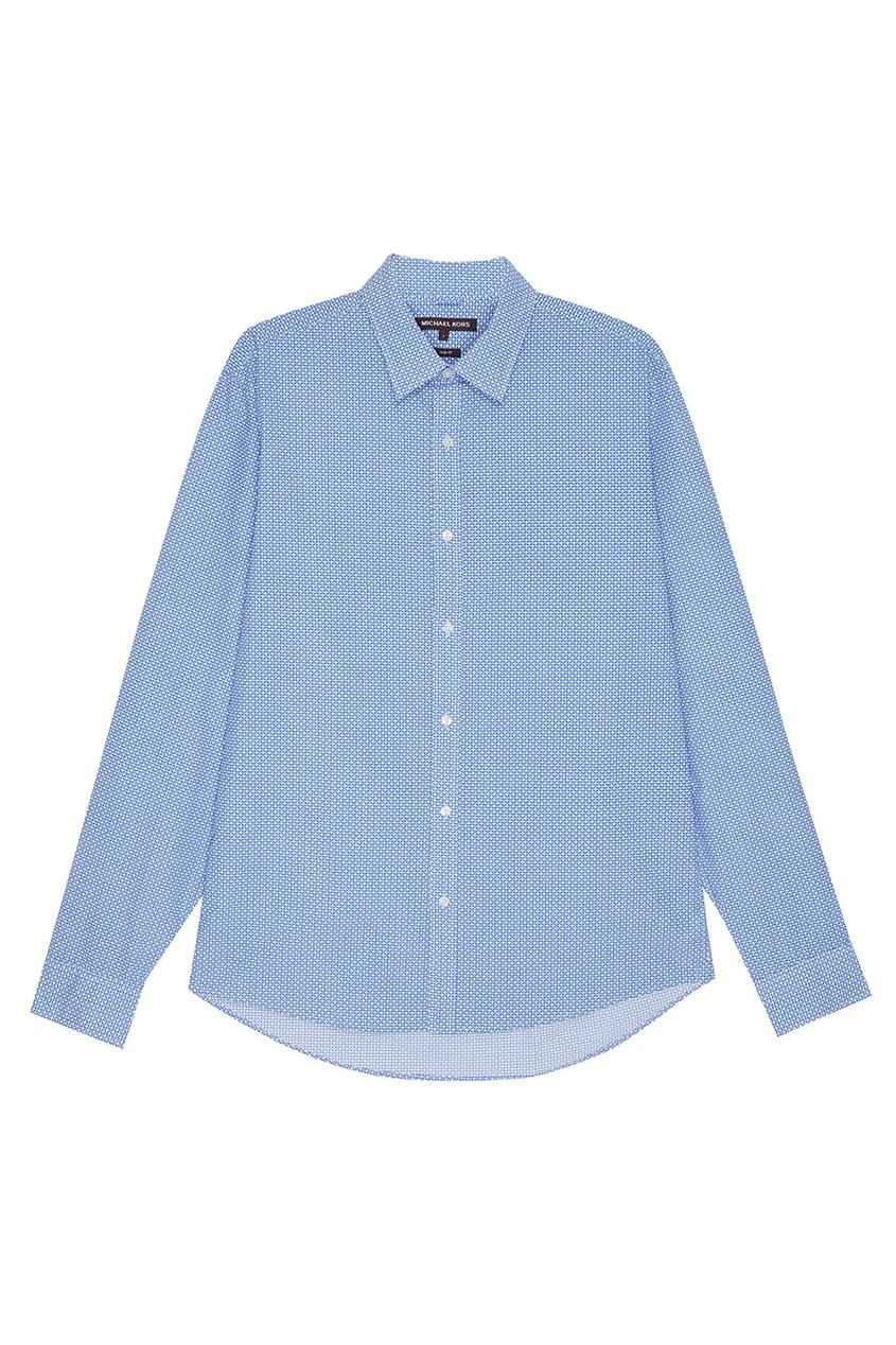 Michael Kors Хлопковая сорочка с орнаментом сорочка