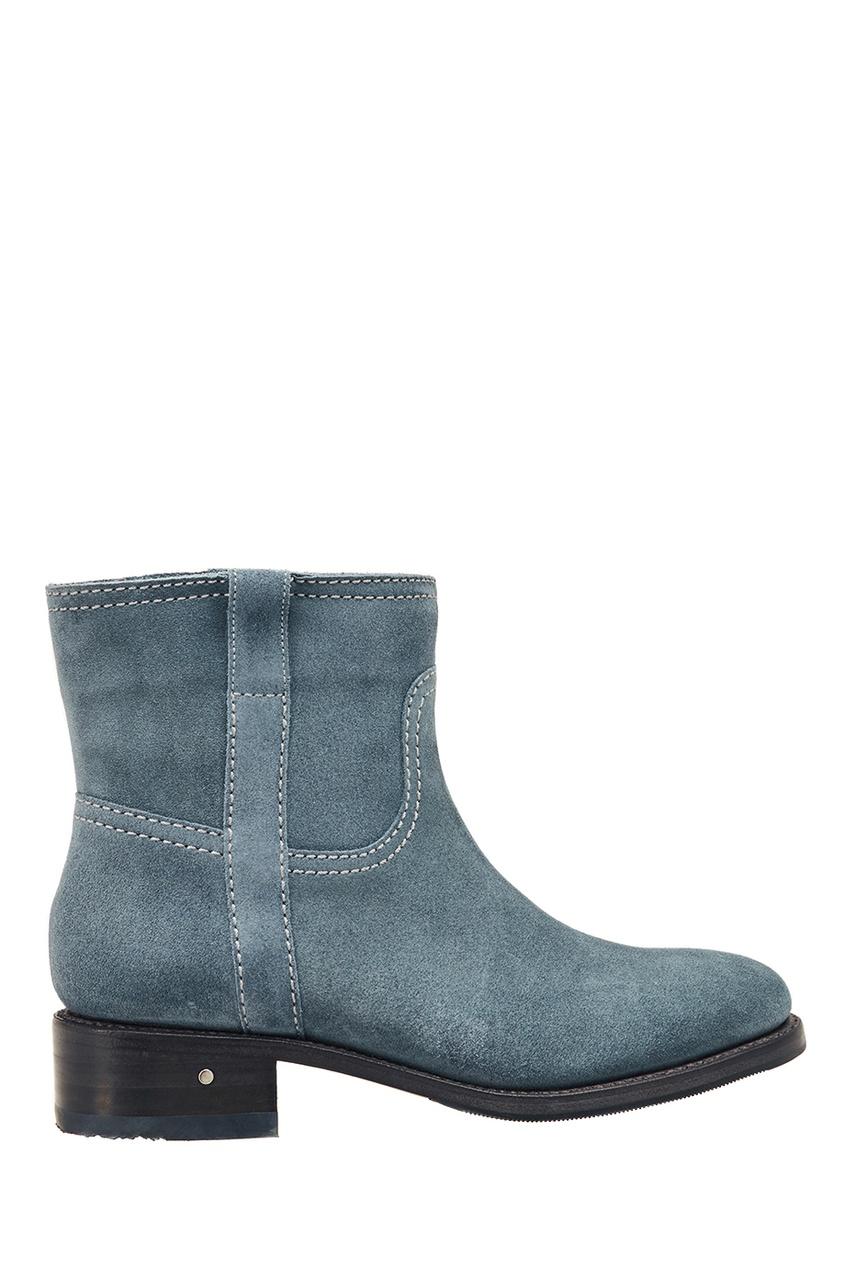 Laurence Dacade Голубые ботинки из замши
