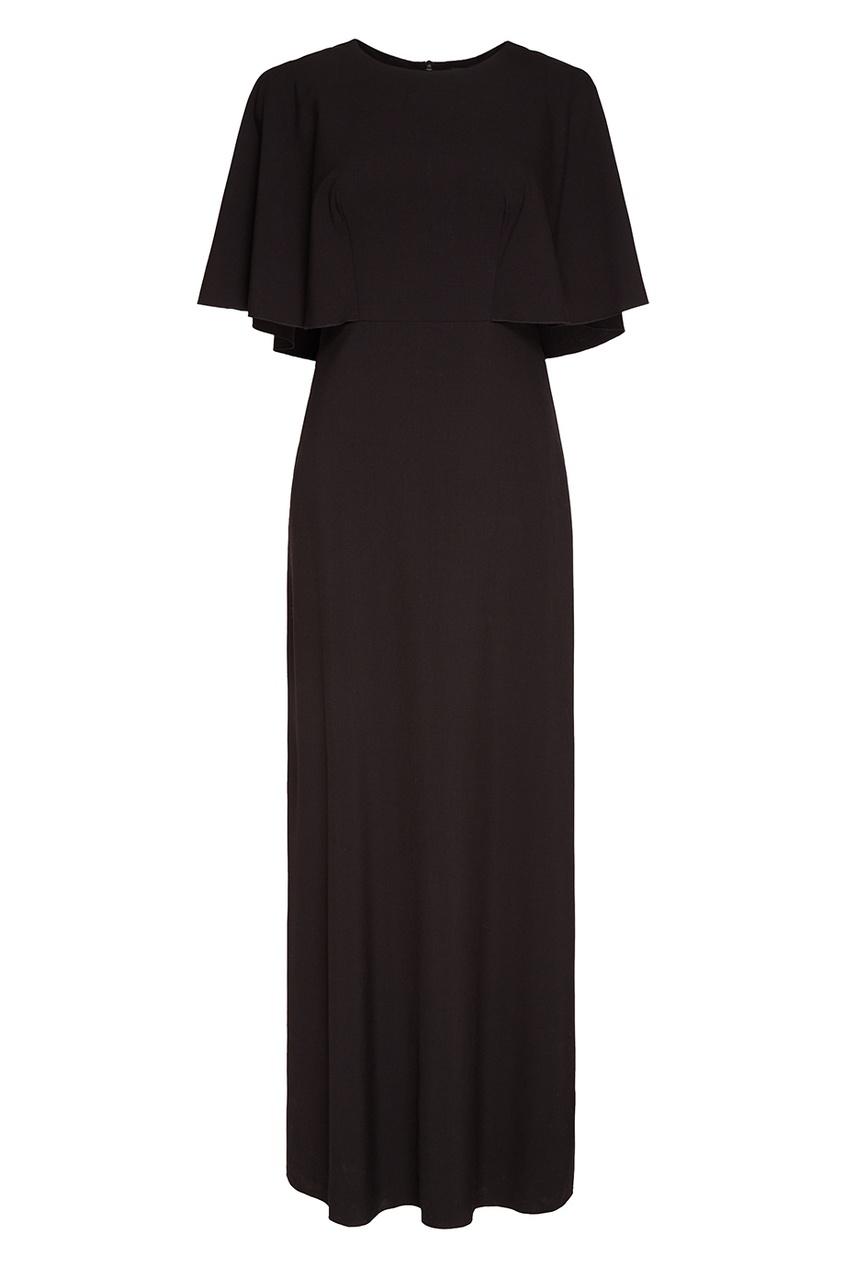 Cyrille Gassiline BASE Черное платье-макси cyrille gassiline черное платье макси