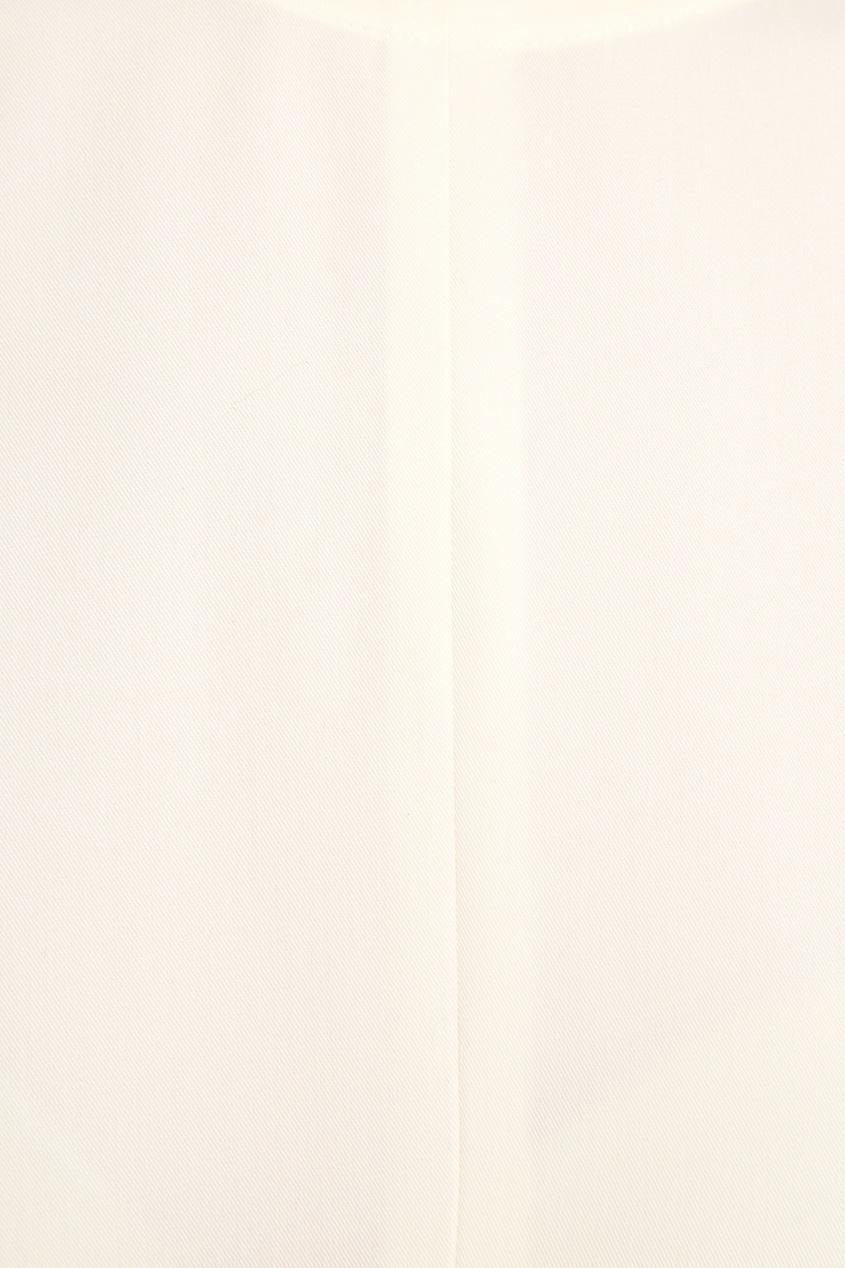 Cyrille Gassiline BASE Свободное платье молочного цвета породы коз молочного направления