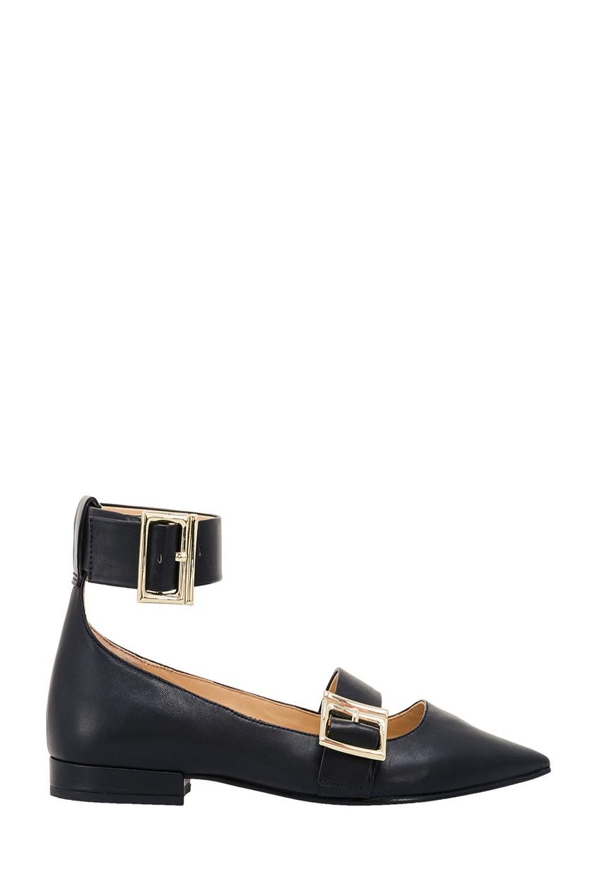 What For Черные туфли с пряжками туфли sparkling туфли на низком каблуке