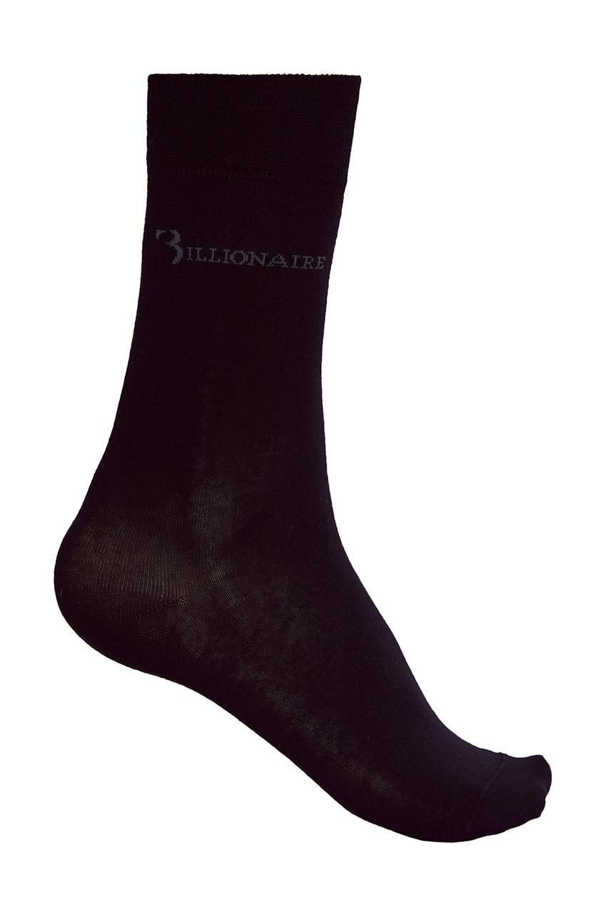 Billionaire Черные носки из хлопка billionaire мокасины