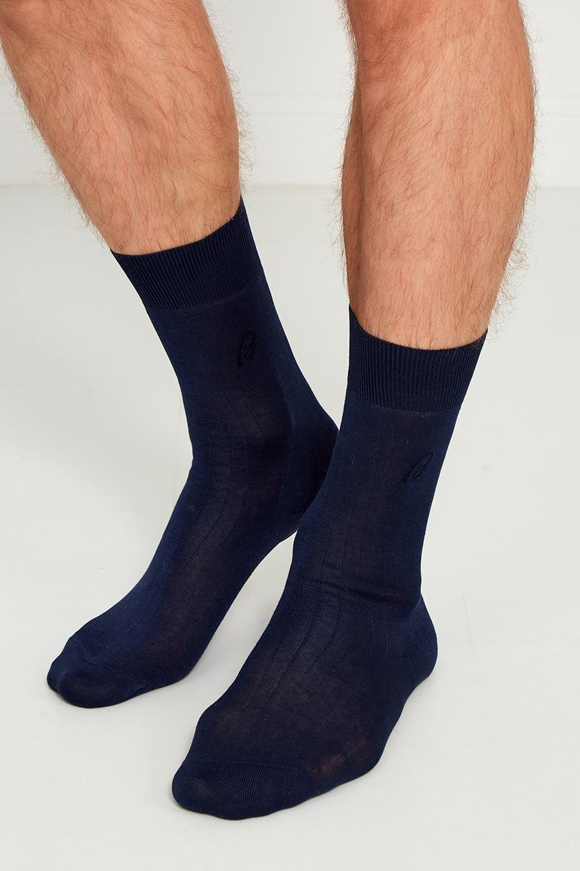 BRIONI Синие носки из хлопка brioni спортивный костюм от brioni 72536