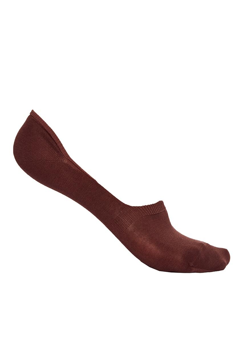 BRIONI Коричневые носки из шерсти brioni шерстяные брюки серые
